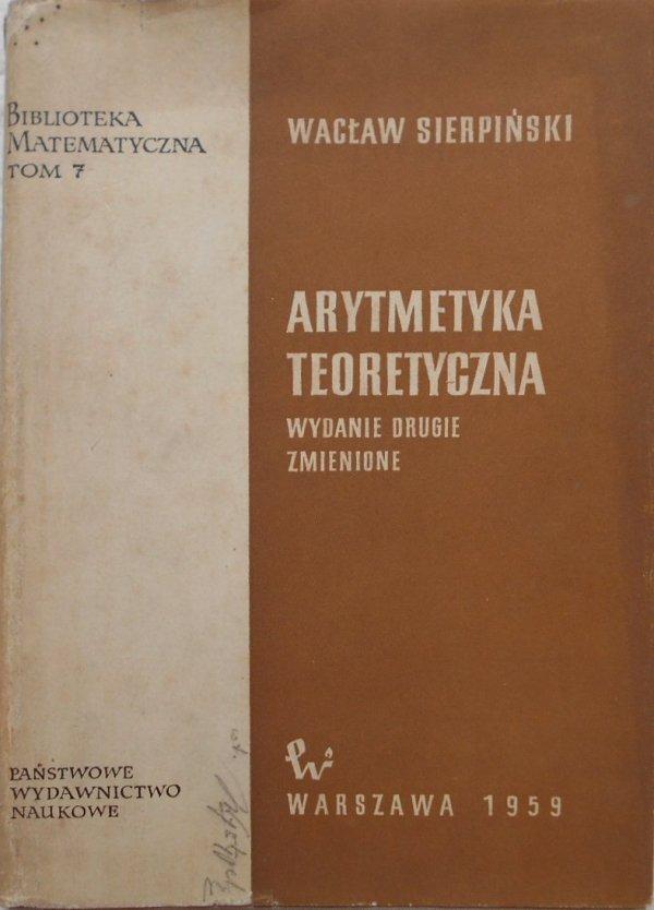 Wacław Sierpiński • Arytmetyka teoretyczna