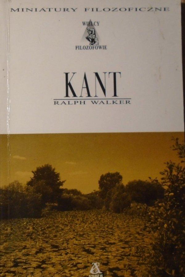 Ralph Walker • Kant