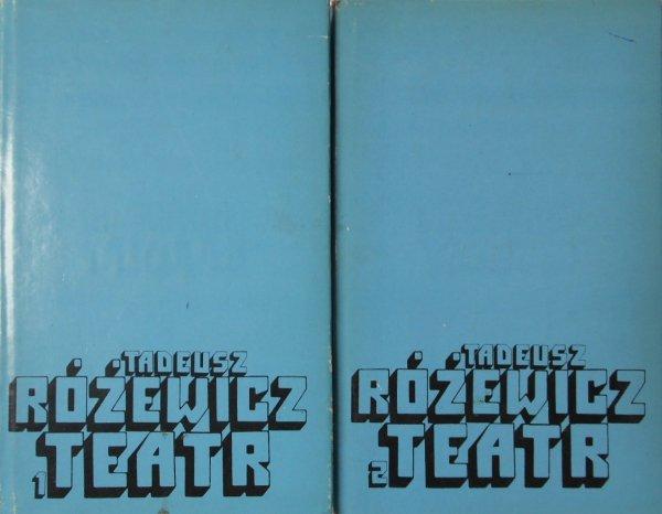 Tadeusz Różewicz • Teatr. Dramaty