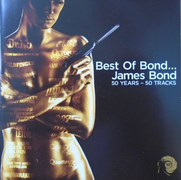Best of Bond... James Bond • 50 Years - 50 Tracks • 2xCD