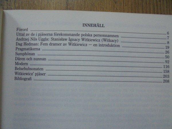Stanisław Ignacy Witkiewicz • Fem Dramer [język szwedzki]
