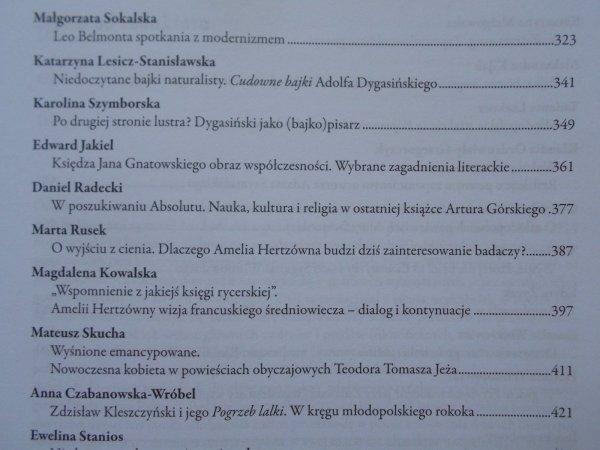 Literatura niewyczerpana • W kręgu mniej znanych twórców polskiej literatury lat 1863-1914