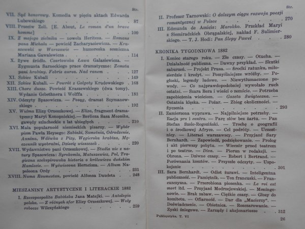 Henryk Sienkiewicz • Pisma tom XLVI. Publicy [Nobel 1905]