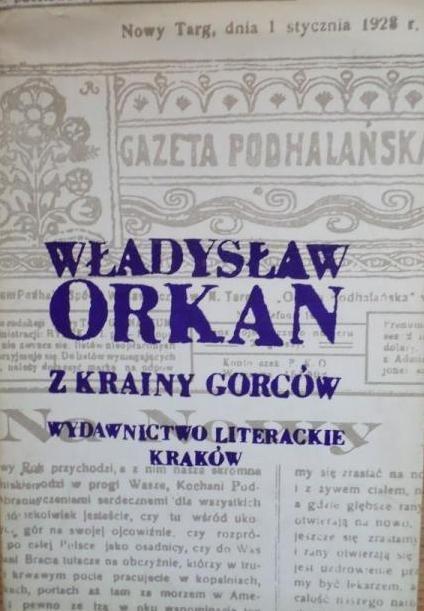 Władysław Orkan • Z krainy Gorców