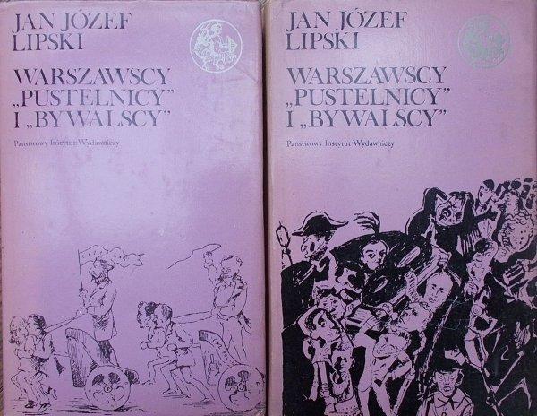 Jan Józef Lipski • Warszawscy 'Pustelnicy' i 'Bywalscy' [dedykacja autora]