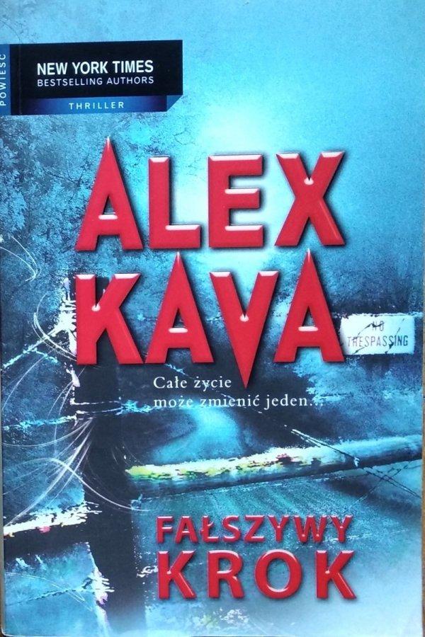 Alex Kava • Fałszywy krok