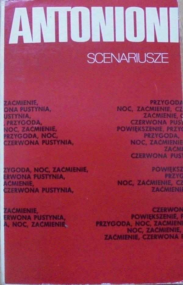 Michelangelo Antonioni • Scenariusze