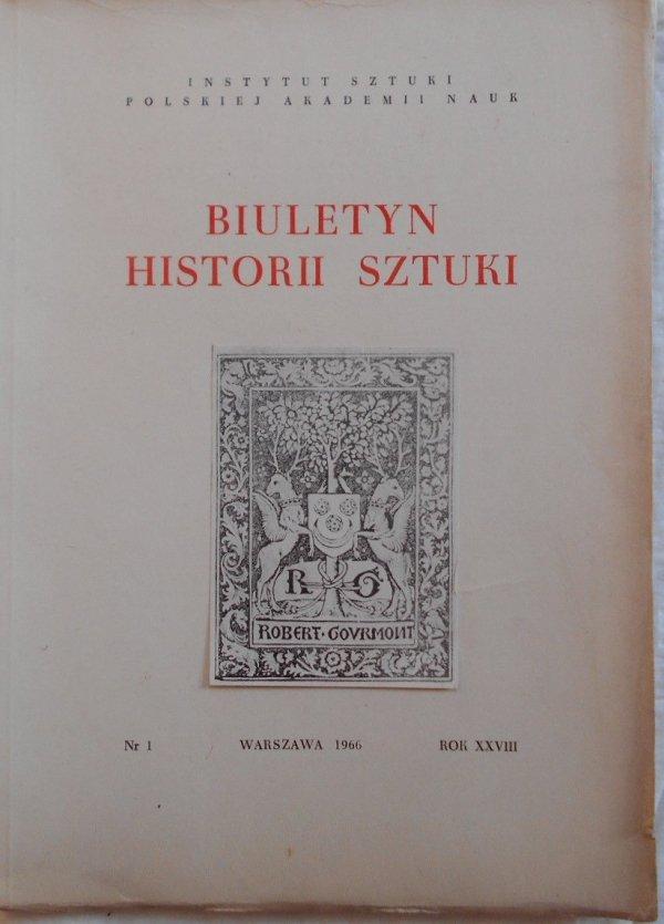 Biuletyn Historii Sztuki 1/1966 • Formizm, kościół Św. Piotra w Krakowie, Drzeworyty