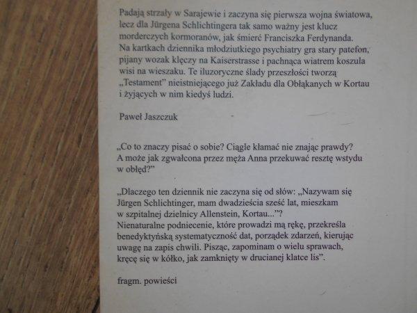 Paweł Jaszczuk • Testament