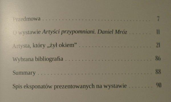 Magdalena Smaga • Artyści zapomniani. Daniel Mróz