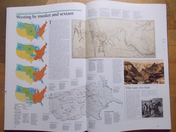 Historical Atlas of the United States • Centennial Edition [National Geographic]