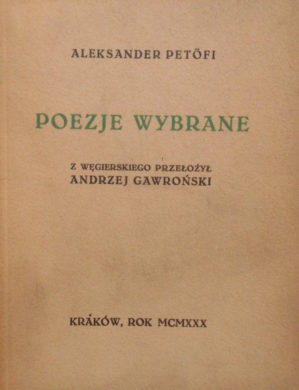 Aleksander Petofi • Poezje wybrane