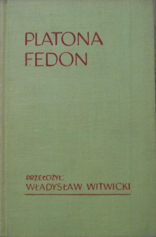 Władysław Witwicki • Platona Fedon