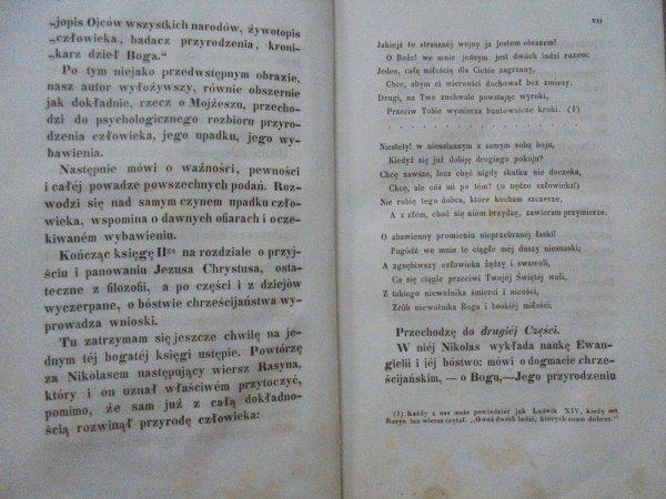 August Nicolas Badania Filozoficzne O Chrystyanizmie 1851