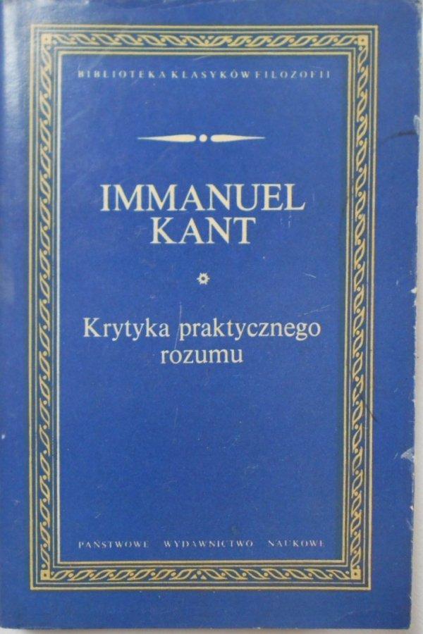 Immanuel Kant • Krytyka praktycznego rozumu