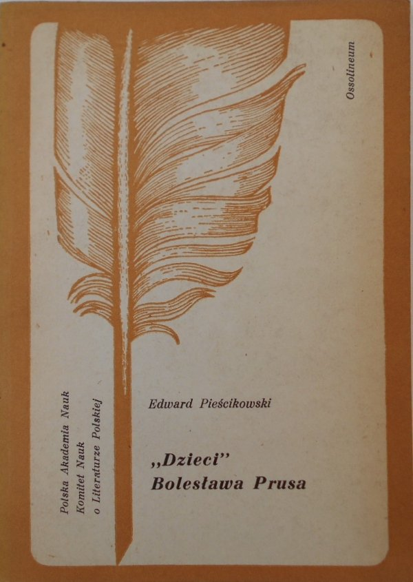 Edward Pieścikowski • Dzieci Bolesława Prusa