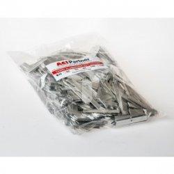 Taśma aluminiowa 10x1mm w odcinkach 40mm TALU10X1ODC40 /1kg ok. 37m/