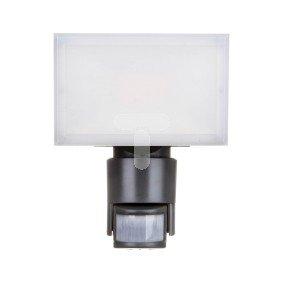 Projektor LED 23W IP44 Ikl. z czujnikiem ruchu NOXLITE LED HP FLOODLIGHT szary 3000K 1600lm 4052899905603