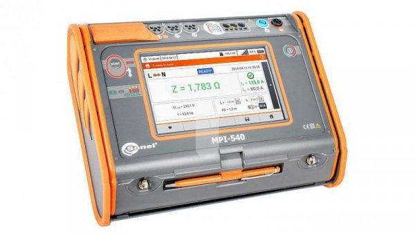 Miernik parametrów instalacji elektrycznych MPI-540 (bez cęgów F-3A) WMPLMPI540S