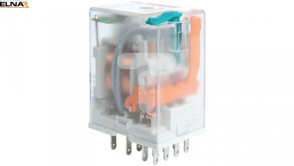 Przekaźnik przemysłowy 4P 6A 220V DC, element tłumiący AgNi R4N-2014-23-1220-WTD 860672