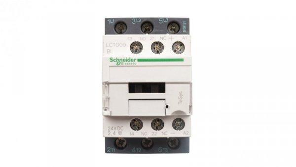 Stycznik mocy 9A 3P 24V DC 1Z 1R LC1D09BL