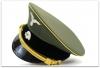 MC025 CZAPKA SCHIRMMUTZE WYŻSZEGO OFICERA GENERAŁ WAFFEN-SS - GABARDYNA