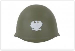 MH141  WCZESNY HEŁM WZ40 LUDOWE WOJSKO POLSKIE 1943