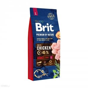 Brit By Nature Adult L 15kg