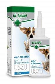 Płyn Dr Seidel do przemywania uszu dla psów i kotów
