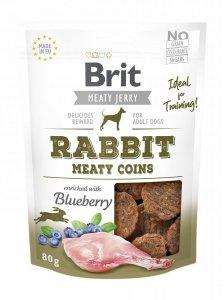 Brit Jerky Snack – Rabbit Meaty coins 80g