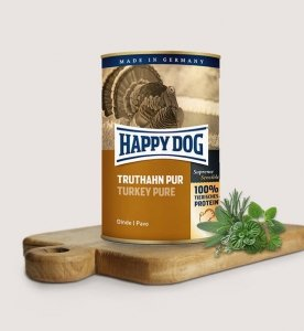 Happy dog puszka Indyk 200g