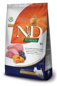 Farmina N&D Pumpkin Lamb &Blueberry Adult Mini 2,5kg