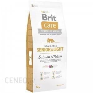 Brit Care Senior & Light Salmon  12kg