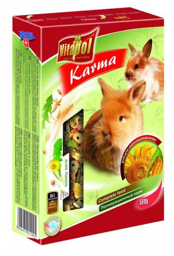 Karma Vitapol pełnoporcjowa dla królika 1kg
