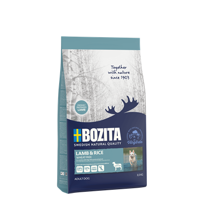 Bozita wheat free lamb and rice 12kg