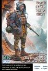Master Box 35213 Pоst-apocalyptic fiction. Desert Battle Series.  Skull Clan – Long-distance raid. Kit №1. An old raider. Vadim  1/35