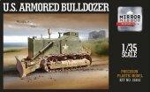 Mirror Model 35852 U.S. Armored Bulldozer 1/35