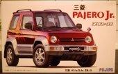 Fujimi 039107 Mitsubishi Pajero AJERO-Jr. ZR-II w/Window Frame Masking 1/24