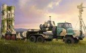 Hobby Boss 85511 Russian KrAZ-260B Tractor with 5P85TE TEL S-300PMU 1/35