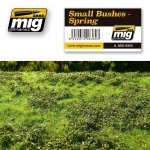 AMMO of Mig Jimenez 8360 SMALL BUSHES – SPRING (230 x 130 mm)