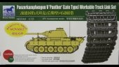 Bronco AB3540 Panzerkampfwagen V Panther Late Type Workable Track Link Set 1/35