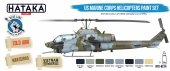 Hataka HTK-BS14 US Marine Corps Helicopters Paint Set (8x17ml)