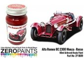 Zero Paints ZP-1609 Alfa Romeo 8C 2300 Monza Rosso - Paint 60ml