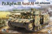 Takom 8002 Pz.Kpfw.III Ausf.M mit Schürzen 1/35