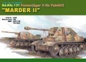 Dragon 6262 Sd.Kfz. 131 Panzerjaeger II fur Pak 40/2 Marder II (1:35)
