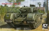 AFV Club 35S52 Churchill Mk.VI with Ordnance QF 75mm Mk.V gun