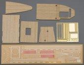Hasegawa 72124 Wooden Deck for 1/700 Carrier AKAGI Three Flight Deck