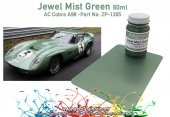 Zero Paints ZP-1305 AC Cobra Coupe A98 Le Mans 1964 Jewel Mist Green Paint 60ml