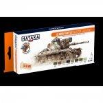 Hataka HTK-CS99 US Army paint set (MASSTER & DUALTEX) (8x17ml)