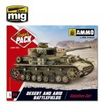 AMMO of Mig Jimenez 7802 - Super Pack Desert & Arid Battlefields - Solution Set - Zestaw do weatheringu